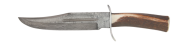 Frost Whitetail Damascus Bowie 20 cm