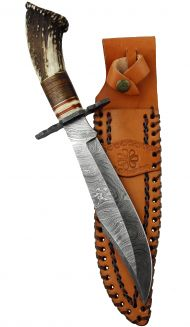 Damascus Crown Stag Hunter