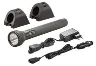 Streamlight SL-20LP Full LED Zaklamp oplaadbaar zwart met 12V en 230V lader